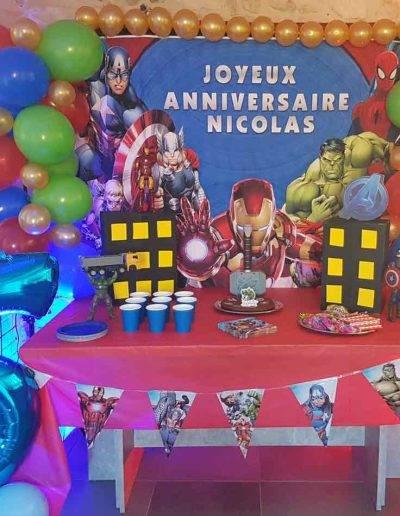 Décorations anniversaire